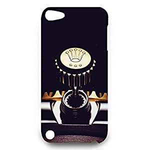 Rolex Watch Pattern Back Cover For Ipod Touch 5th 3D Hard Plastic Case