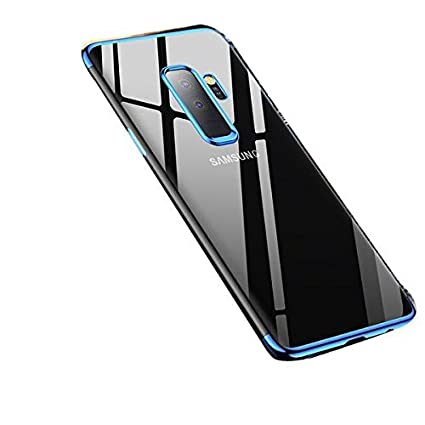 hot sales 9bc99 59f23 Sajni Creations Samsung J8 Back Cover, Electroplated Soft TPU 3D Anti-Knock  Ultra Thin Transparent Silicon Back Cover Case for Samsung Galaxy J8 ...