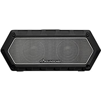 Soundcast VG1 Premium Bluetooth Waterproof Speaker– Shock Resistant – Dynamic Full Range + Bass, Stereo Pair, Works with Siri, iPhone/Android/Samsung/Windows Devices