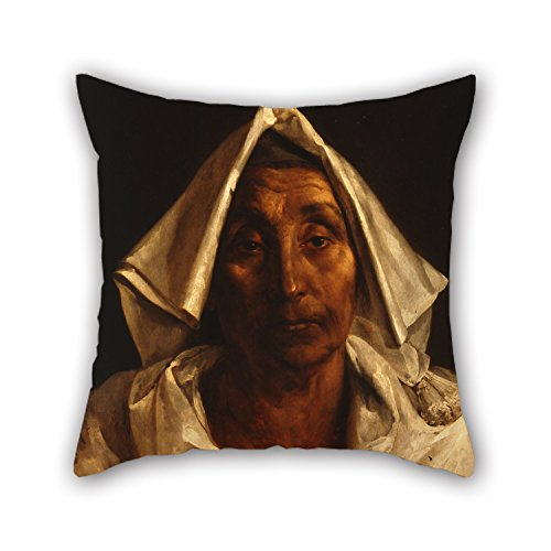 alphadecor-cushion-covers-of-oil-painting-thacodore-gacricault-the-old-italian-woman-20-x-20-inches-
