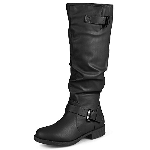 Cheap Leather Riding Boots - 8