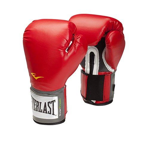 Everlast Pro Style Training Gloves Red