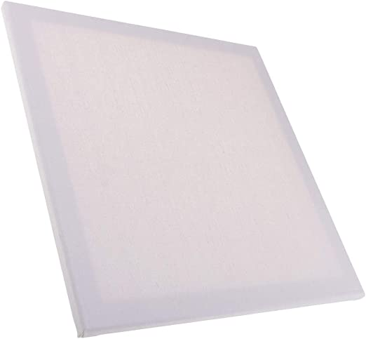 dailymall Blank Stretched Painting Art Canvas Boards White for Acrylic Oil Painting 30x40x1.6cm