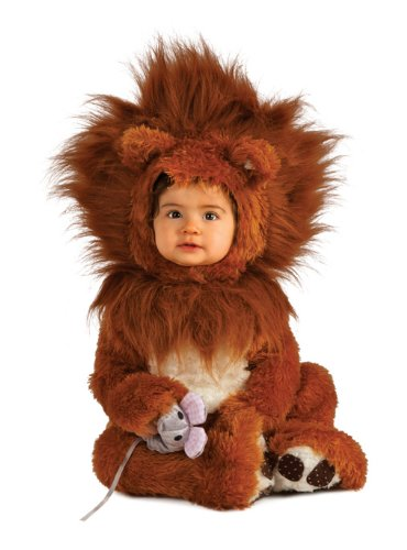 Brown Lion Cub Baby Costume Toddler 6-12 Months by Rubie's