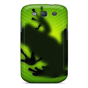 New Arrival Case Specially Design For Galaxy S3 (frog Behind Leave)