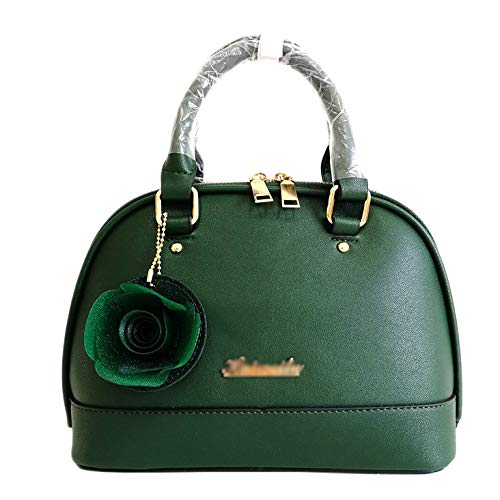 Vintage Pelle In A Tracolla A In Mano Tracolla Borsa PU Pelle Borsa Pelle A Green In Borsa Tracolla A TqR8Rwzd