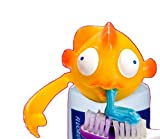 Spread Heads Toothpaste Cap Dispenser Bubbles Fish