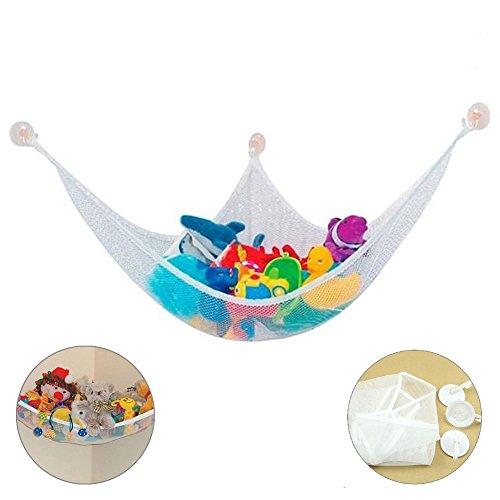 Stylish Net - EXKOKORO Stuffed Animal Toy Storage Hammock Organizer, Durable Kid's Premium Plush Toys Stuffed Toys Mesh Hammock Stylish Pet Net(150x100x100cm)