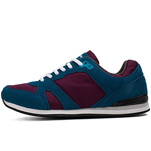 Breathable Blue Comfortable Casual Shoes Wine Lace Men Red up Shoes Susan1999 fXq1x1