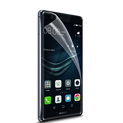 SPARIN [4 Pack] Huawei P9 Plus Soft TPU Screen Protector, TPU FILM Screen Protector for Huawei P9 Plus with [Full...
