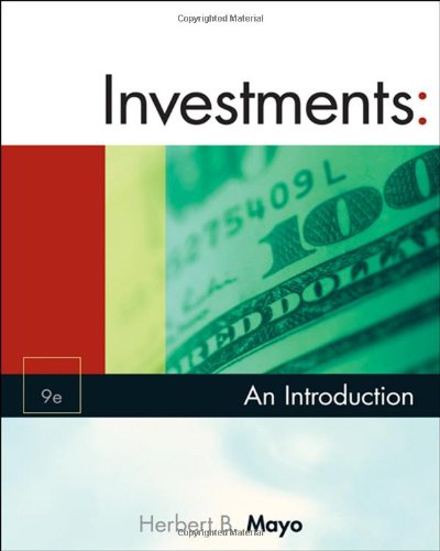 Investments: An Introduction (with Thomson ONE - Business School Edition and Stock-Trak Coupon) (Available Titles Cengag