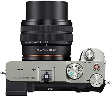 414xJx29PuL. AC  - Sony Alpha 7C Full-Frame Compact Mirrorless Camera Kit - Silver (ILCE7CL/S)