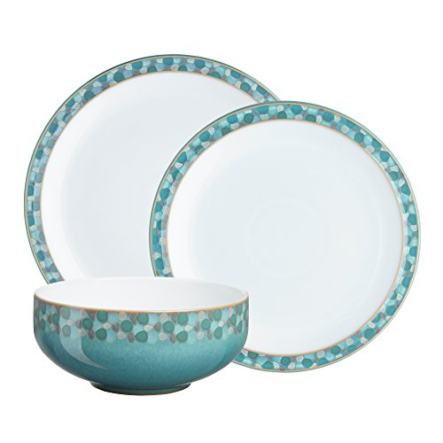 Denby Azure Shell 12-Piece Dinnerware Set