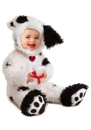 Rubie's Costume Co Dalmatian Costume, 6-12 Months (Dalmatian Halloween Costume For Baby)