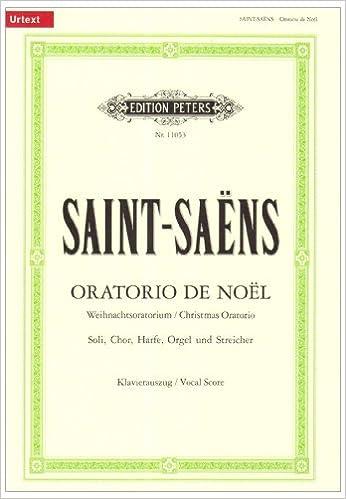 En ligne téléchargement gratuit Oratorio de Noël op. 12 / URTEXT: für Soli, Chor, Harfe, Orgel und Streicher / Weihnachtsoratorium / Klavierauszug von Roland Erben epub, pdf