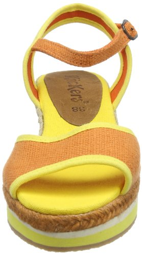 Yellow 173 Oelia Femme Orange Orange Mules Kickers Orange 1H0Yqx