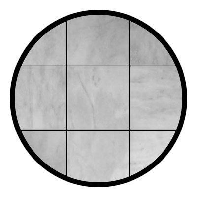 Carrara Marble Italian White Bianco Carrera 6x6 Marble Tile Polished -