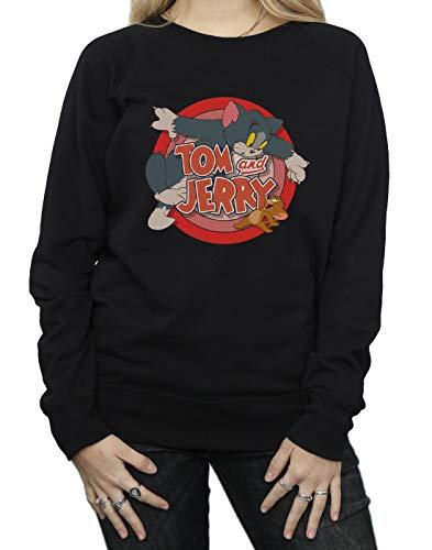 And Entrenamiento Classic Mujer Catch Camisa Negro Jerry De Tom fqSna74d4