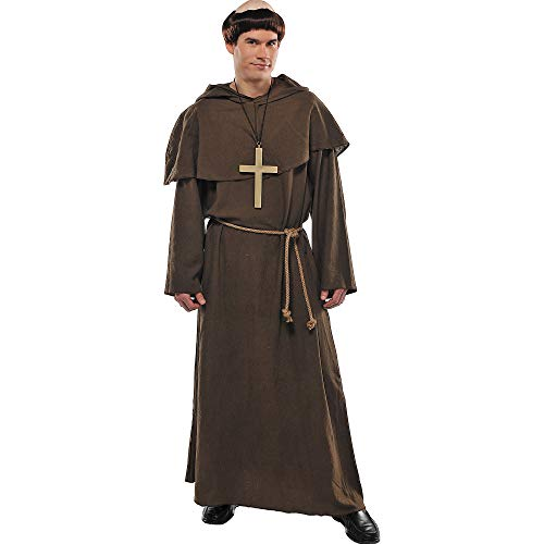 amscan Friar Costume - Standard - Chest Size