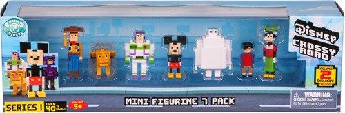 Disney Crossy Road Mini Figures 7 Pk