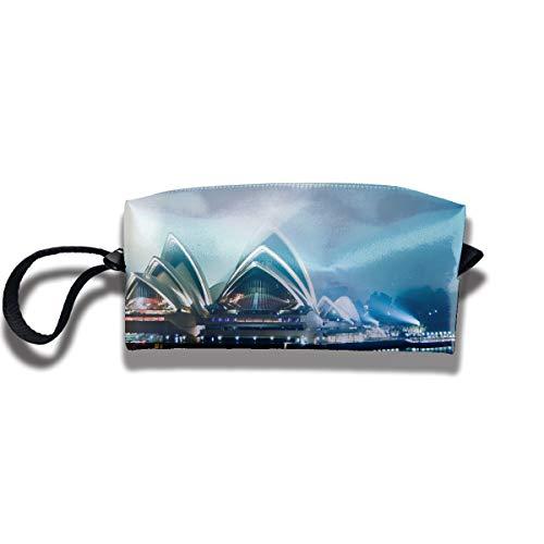 - Coin Pouch Sydney Opera Pen Holder Clutch Wristlet Wallets Purse Portable Storage Case Cosmetic Bags Zipper