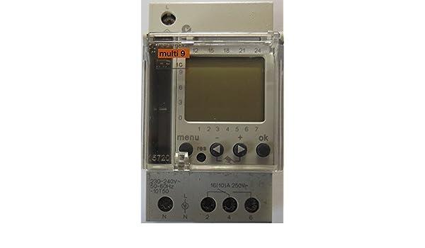 Schneider elec pbt - ccb 40 03 - Interruptor horario digital ihp semanal 3año 2,5 módulos 1canal-16a: Amazon.es: Bricolaje y herramientas
