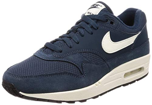 Nike Air Max 1 Mens Running Shoes Armory Navy Blue Size 8.5 US (One Air Max Blue Nike)