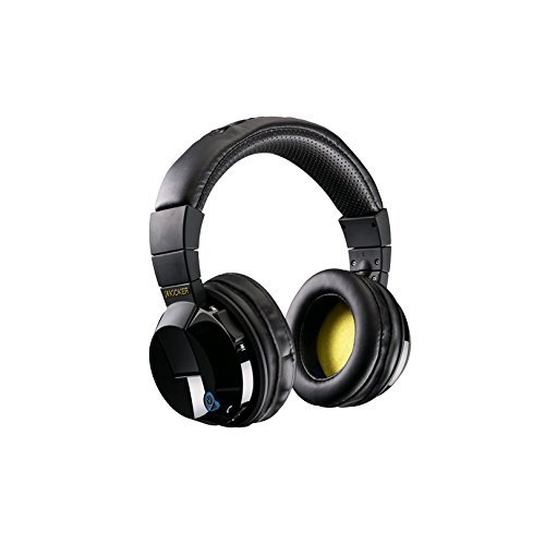 Kicker Tabor Over-the-Ear Wireless Headphones Black HP402BTB