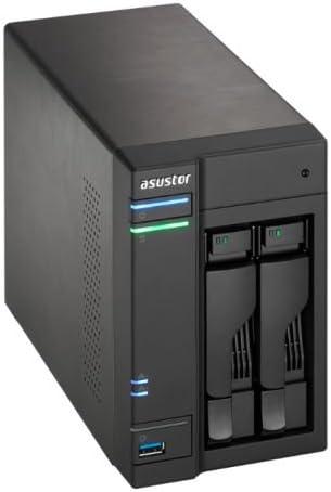 ASUS AS6102T Ethernet Negro - Unidad Raid (Unidad de Disco Duro, SSD, Serial ATA II, Serial ATA III, 2.5/3.5