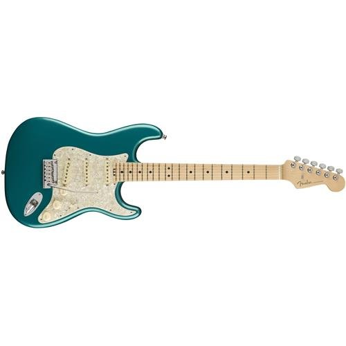 Fender American Elite Stratocaster Maple Fingerboard Electric Guitar Ocean Turquoise