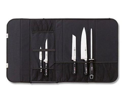 Zwilling J A Henckels 17 Pocket Pro Chefs Case Knife Storage Roll