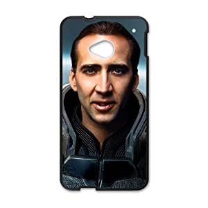 Nicolas Cage HTC One M7 Cell Phone Case Black g1877244