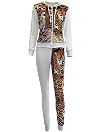 "<span class=""a-offscreen"">[Sponsored]</span>Womens Casual Printed Zipper Hoodie Sweatshirts Sweatpants Tracksuits"
