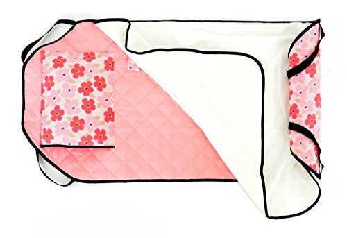 Urban Infant Tot Cot All-In-One Preschool / Daycare Toddler Nap Mat - Poppies (Cots Toddler Sleeping)