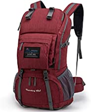 Mountaintop 40L Hiking Backpack for Outdoor Camping Backpack for Men and Women