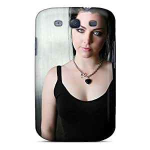 Anti-Scratch Cell-phone Hard Covers For Samsung Galaxy S3 With Support Your Personal Customized Realistic Evanescence Band Skin JasonPelletier
