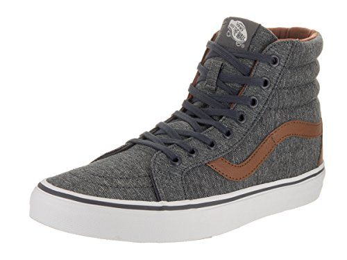 Theme Denim (Vans Unisex Sk8-Hi Reissue (Denim C&L) Prscp/Dachsnd Skate Shoe 11 Men)