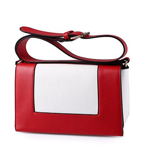 Jpfcak Ms Shoulder Bags Diagonal Package Simple Fashion Packet Señora Personality Temperament Bolso De Hombro De Moda Bolso De Crossbody A