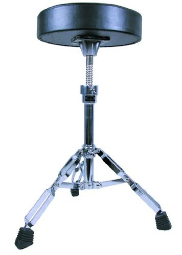 GP Percussion DT82 Double Braced Drummer's Throne