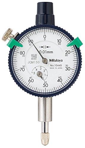 mitutoyo-1044s-dial-indicator-m25x045-thread-8mm-stem-dia-lug-back-white-dial-0-100-reading-41mm-dia