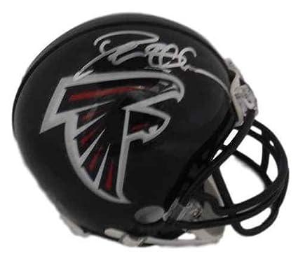 e88d05e18 Amazon.com  Deion Sanders Autographed Atlanta Falcons Riddell Mini ...