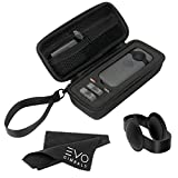 Storage Case for Insta360 ONE X - Hard Shell Case for 360 Camera, Includes Silicone Lens Cap and Cleaning Cloth