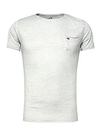 Carisma Herren T-Shirt Brusttasche kurzarm grau L  Amazon.de  Bekleidung ecf3447457