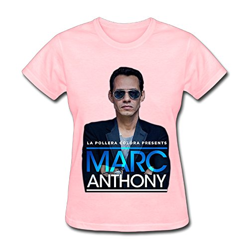 - Hot US Latin Marc Anthony Live 2016 T Shirt For Women