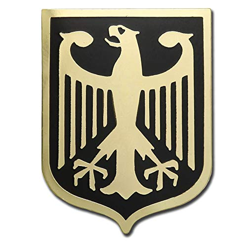 German Eagle Coat Of Arms - VEGASBEE Germany Eagle Coat of ARMS German Crest Gold Plated Premium Lapel PIN Gift Box Deutschland BUNDESADLER