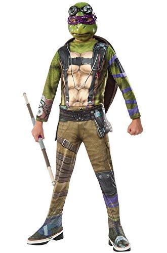 Rubieu0027s Costume Kids Teenage Mutant Ninja Turtles 2 Value Donatello Costume - Funtober  sc 1 st  Funtober & Rubieu0027s Costume Kids Teenage Mutant Ninja Turtles 2 Value Donatello ...