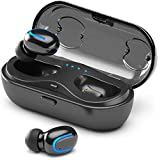 Wireless Earbuds, Ankndo TWS Bluetooth 5.0 True Wireless Bluetooth Earbuds in Ear Headphones 24H Playtime Stereo Sound Wireless Earphones Built-in Microphone for Phone Call