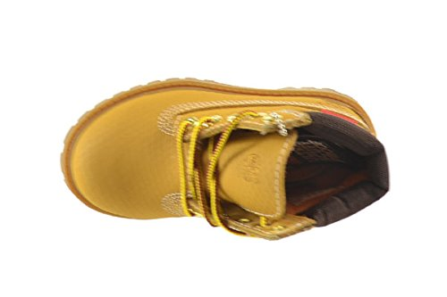 TIMBERLAND TODDLER 6-INCH PREMIUM WATERPROOF HELCOR BOOTS// 6586R// M//M//WHEAT