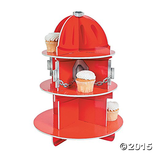 Fun Express Hydrant Cupcake 11 Inches