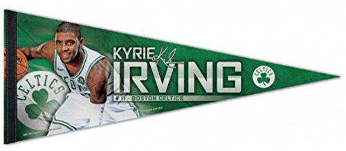 WinCraft NBA Kyrie Irving Boston Celtics Premium Pennant 12 by 30 Inches by WinCraft